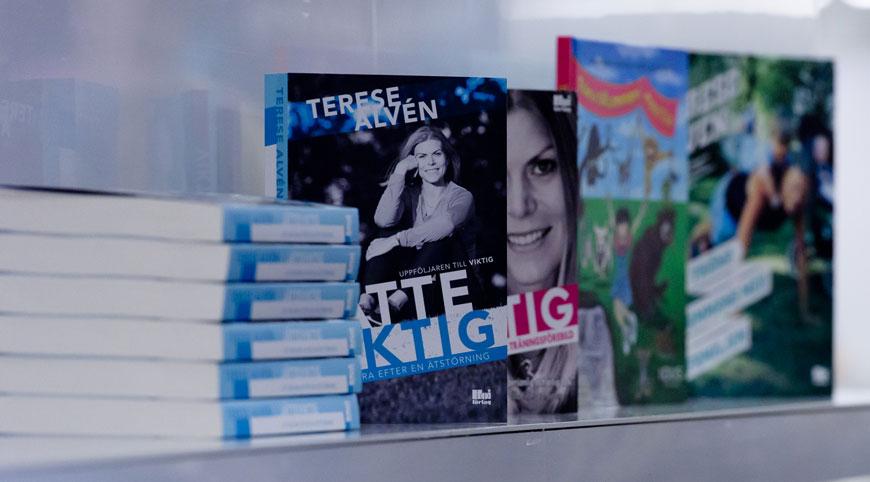 Kampanjpris på mina böcker. Foto: Fredrik Ekedahl.