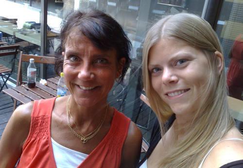 Ingmarie och jag.