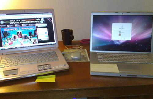 PC och Mac.