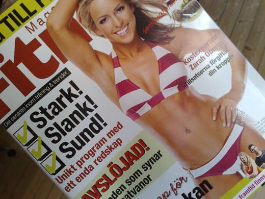 Senaste Fitness Magazine.