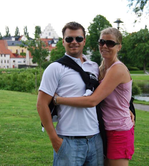 Jag och Glenn på Gotland.