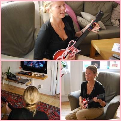 Guitar Hero. Glenns nya leksak. (Och min ...)