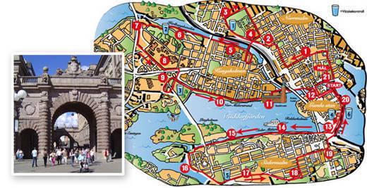 Stockholm halvmarathons nya bana.