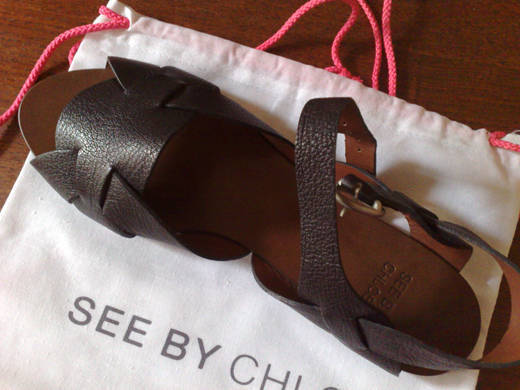 Mina nya sandaler.