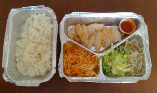 Dagens lunch.