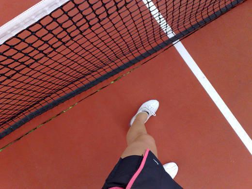 Tennisbild från tidigare i år.