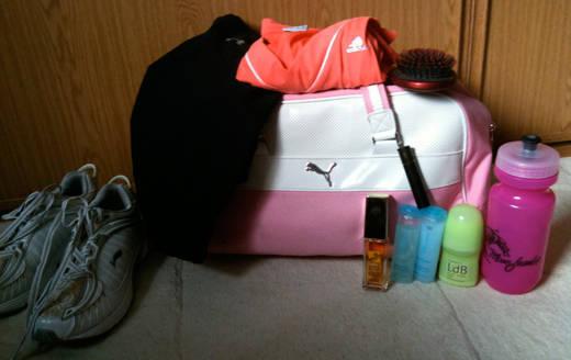 Charlottes väska.