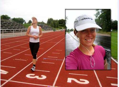 Therese Wahlgren sportar.
