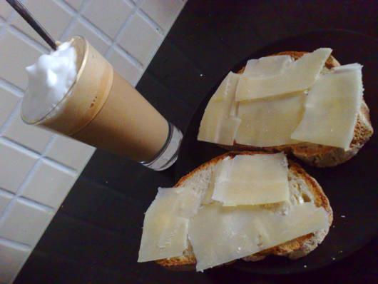 Dagens frukost.