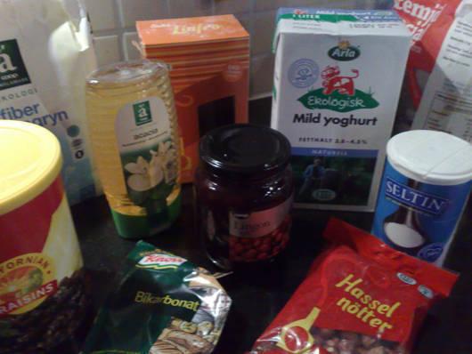 Ingredienser.
