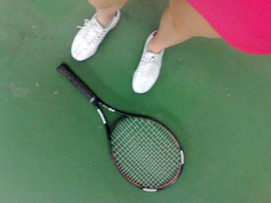 Tennis, tennis, tennis.