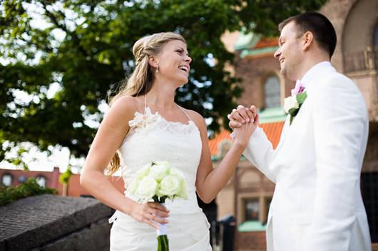 Det är roligt att gifta sig.