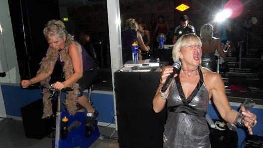 Karaoke-cykling!