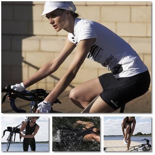Kläder med inriktning cykel och triathlon.