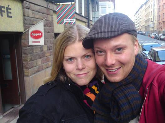 Jag och Wille. Bild lånad från hans blogg.