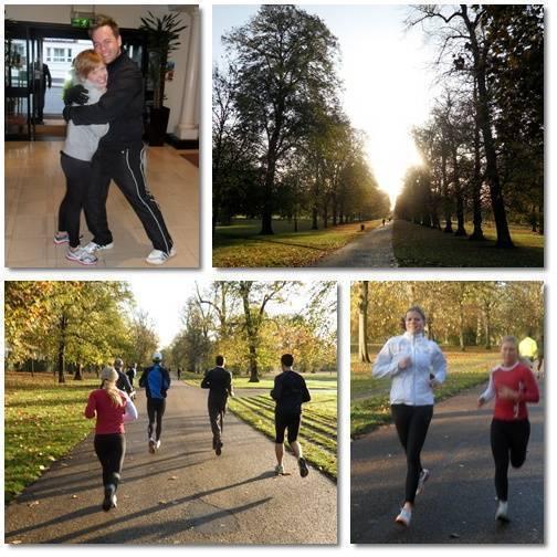 Morgonlöpning i Kensington Park.