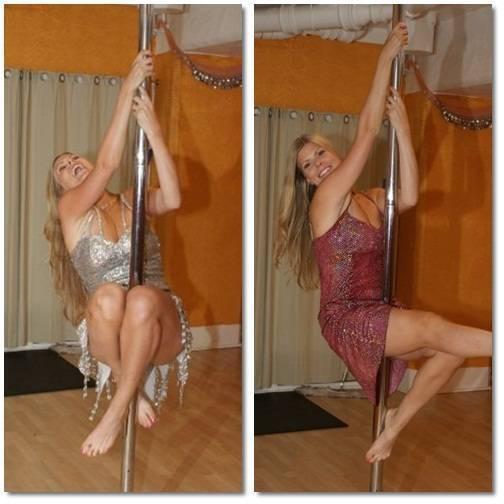Poledance på min möhippa. Bilder: Jane Nilsson, felicitasblog.com.