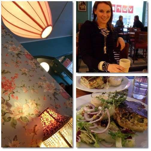 Lunch med Petra på Vurma.