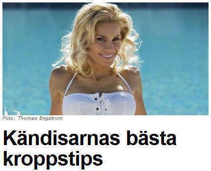 Skärmdump från Expressen.