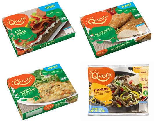 De testade Quorn-produkterna.