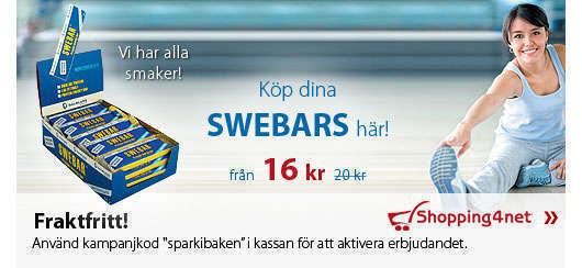 Shoppa billigare Swebars.