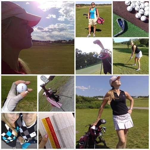 Golfbilder från sommaren 2009.