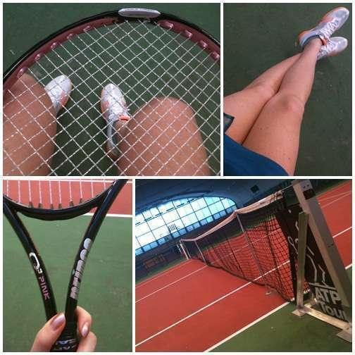 Tennisdetaljer.