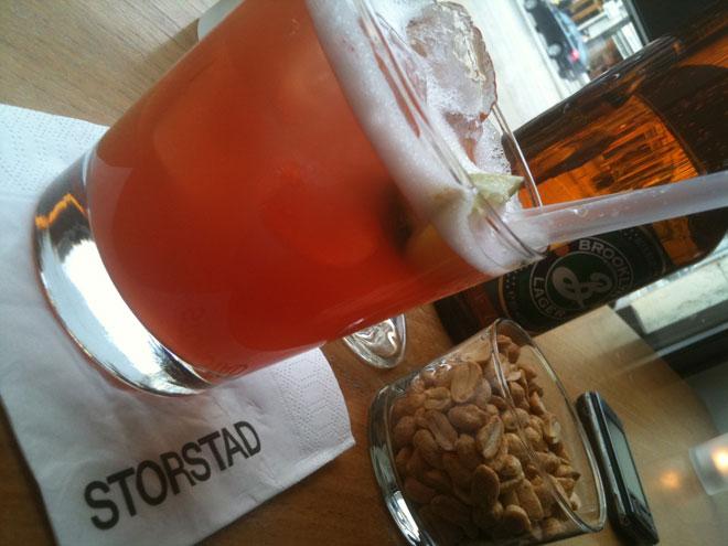 God alkoholfri drink på Storstad.