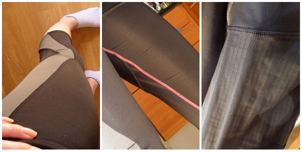 Missade helt att ta bild på byxorna när jag tränade, så jag får återkomma med bättre bild i helgen.