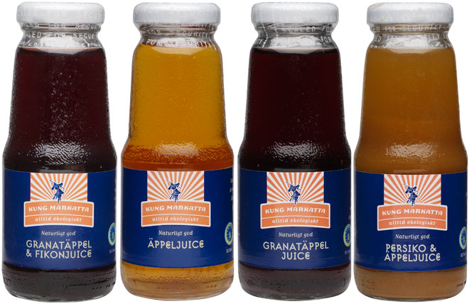 Kung Markattas nya juicer.