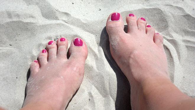Mina fötter har fått ordentligt med massage idag.