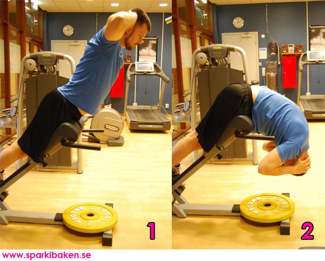 Dagens övning: rygglyft.