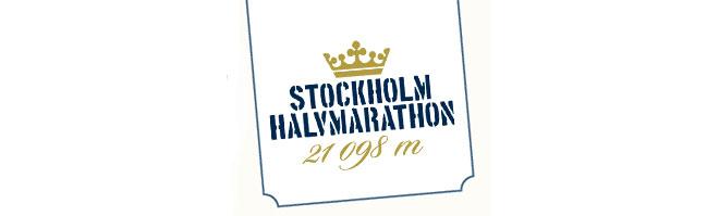 Stockholm halvmarathon.