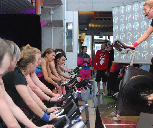 Jag instruerar på Nike Convention 2010.