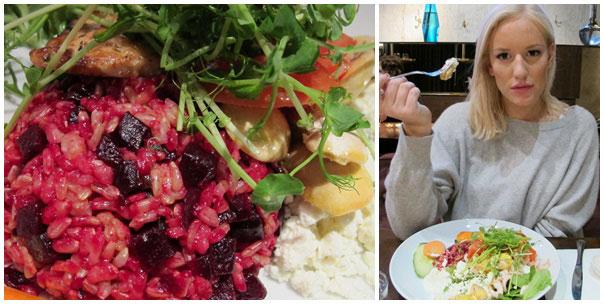 Lunch på Story Hotel med Petra.