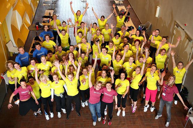 Deltagare och arrangörer av Blogger Boot Camp 2010.