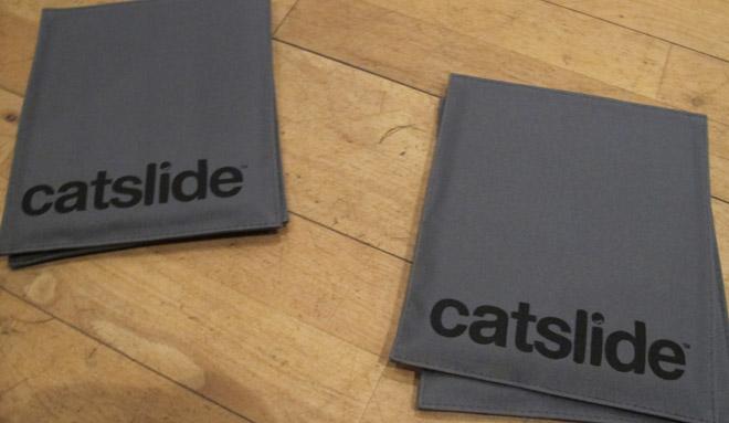 Catslide-dynor att använda under händer och fötter.