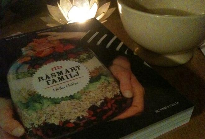 Inspireras av Råsmart mat - men det blir take away ikväll.