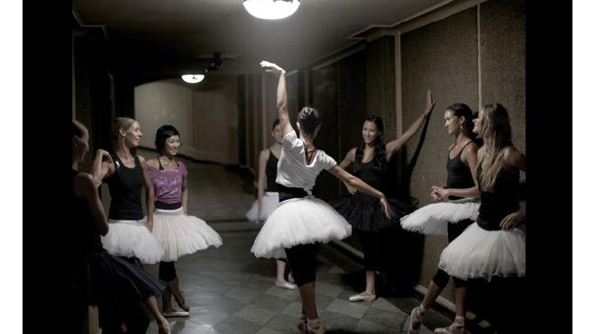 Balettbild från Adidas.