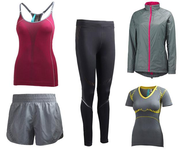 Helly Hansen träningskollektion för damer våren 2011.