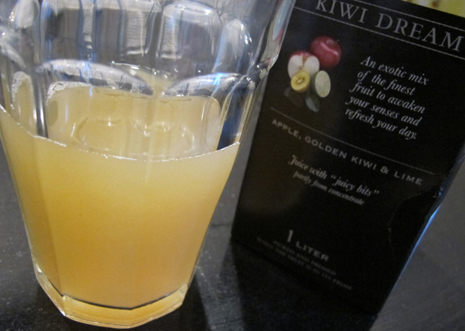 God morgon-juice.
