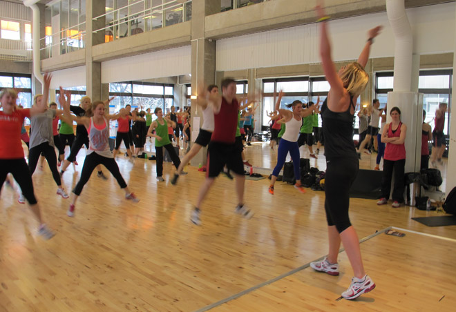 You better JUMP! Body Attack med Kristin Andersson.