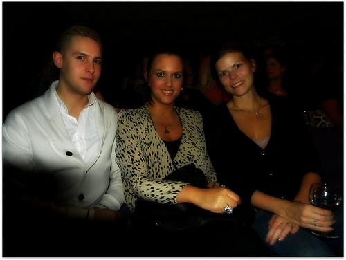 Janne, Camilla och jag.