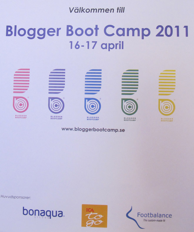 Blogger Boot Camp 2011!