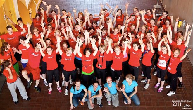 Deltagare och arrangörer Blogger Boot Camp 2011.