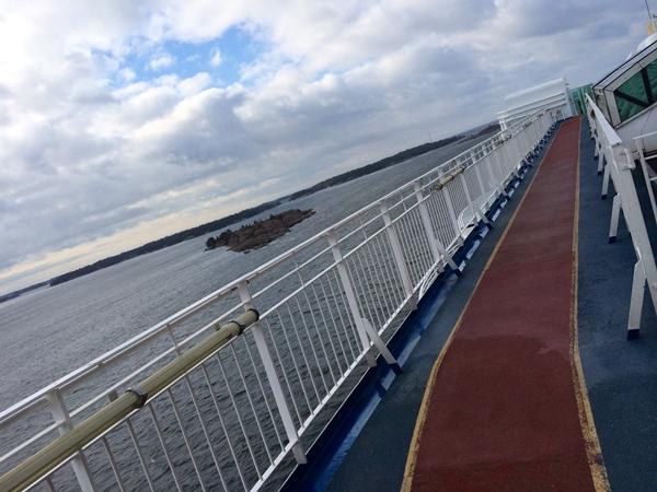 Löpbana på båt