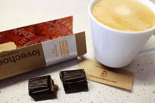 Lovechock - rå choklad