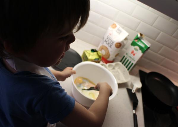Laga mat med barn