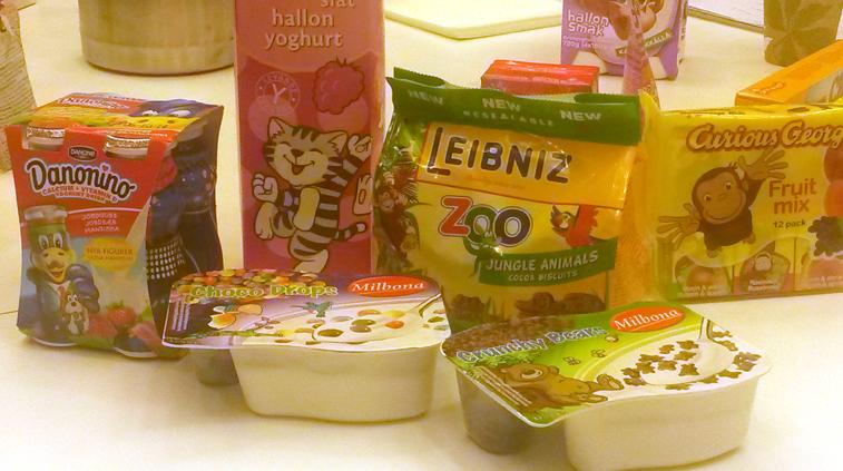 Barnen, sockret och maten