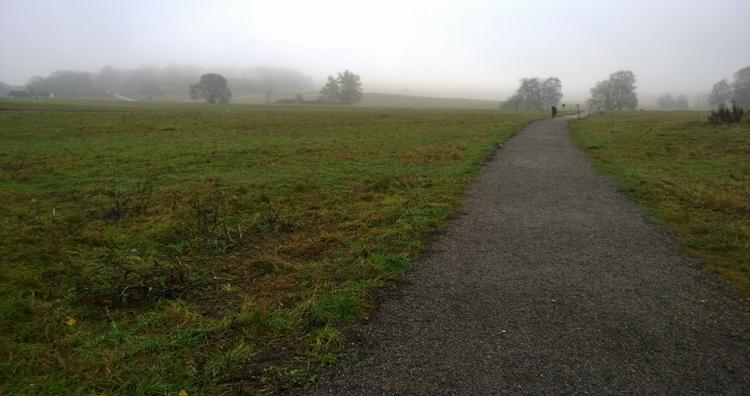 Löpning i dimma